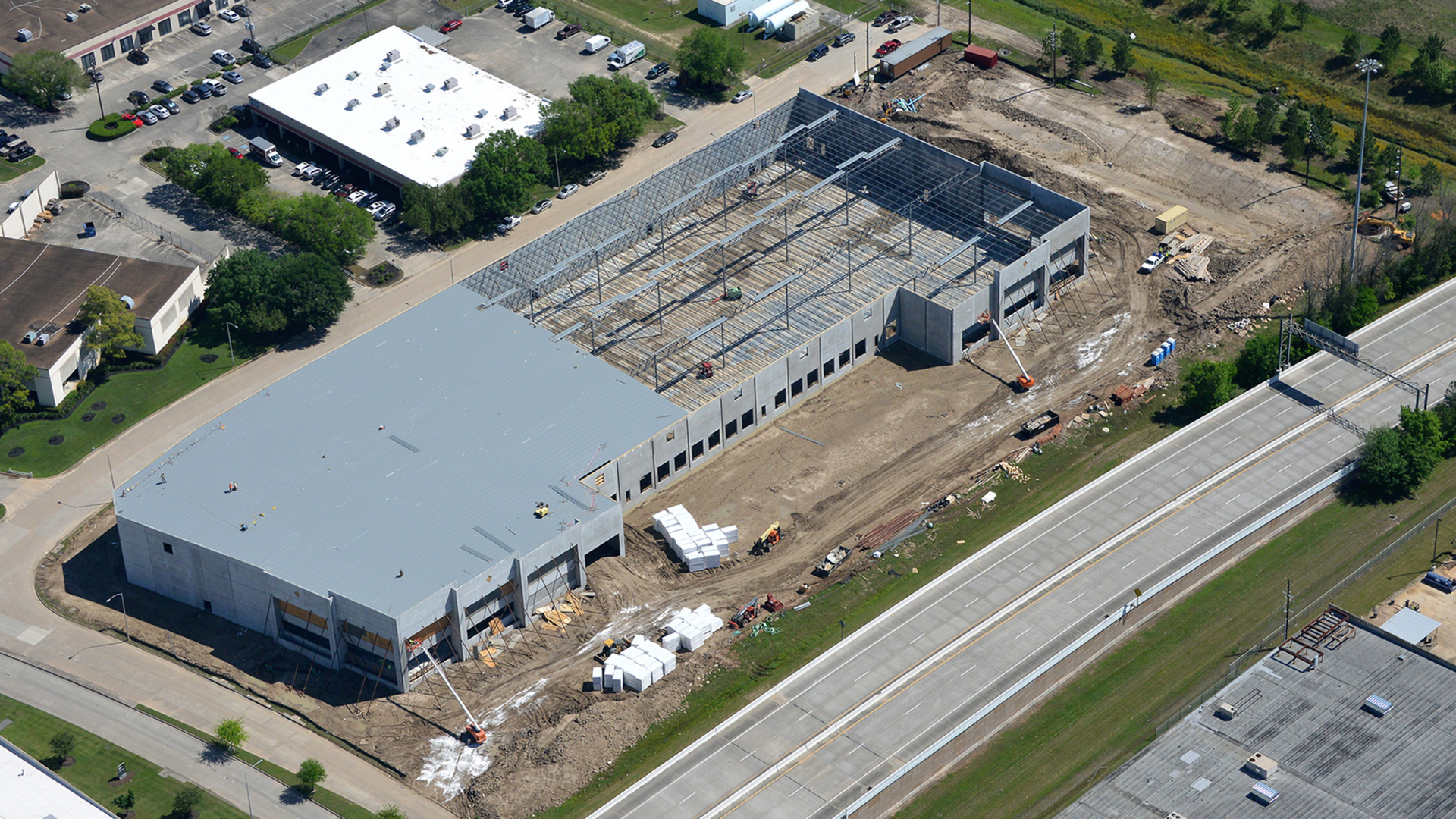 Air Center Distribution Center Burton Construction